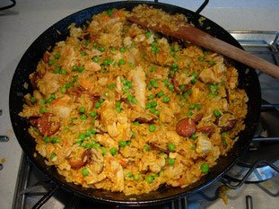 Paella : Photo of step #21