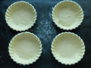 Langoustine and leek tarts : Photo of step #5