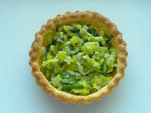 Langoustine and leek tarts : Photo of step #8