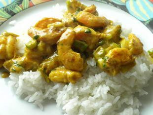 Quick prawn curry : Photo of step #26