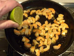 Quick prawn curry : Photo of step #4