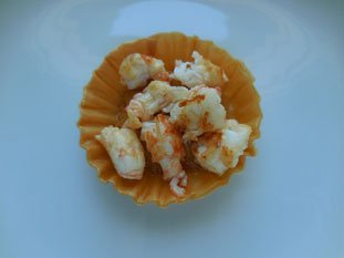Langoustine sabayon tart : Photo of step #11
