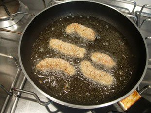 Sesame fried scampi : Photo of step #10