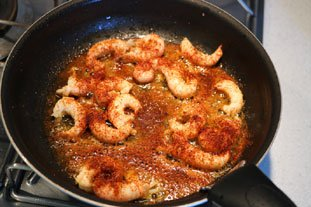 Chilli langoustines : Photo of step #4