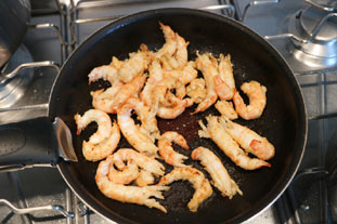 Langoustine gratin : Photo of step #14