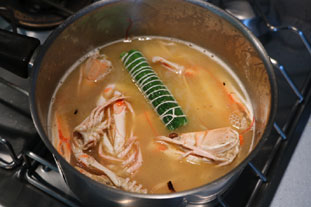 Langoustine gratin : Photo of step #6