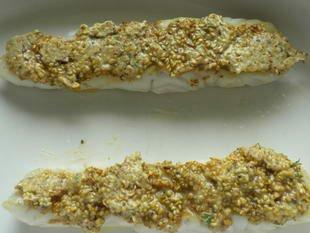 Fish in a sesame crust : Photo of step #6