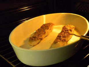 Fish in a sesame crust : Photo of step #7