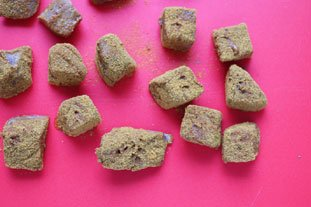 Curried tuna cubes : Photo of step #6