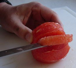 How to peel a fruit : Photo of step #10