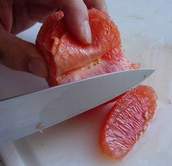 How to peel a fruit : Photo of step #14