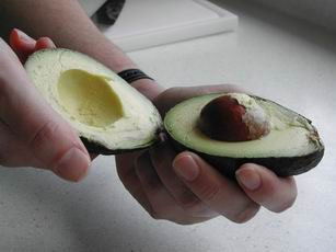 How to prepare an avocado : Photo of step #5