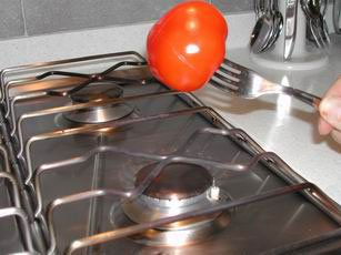 How to prepare tomatoes : Photo of step #7