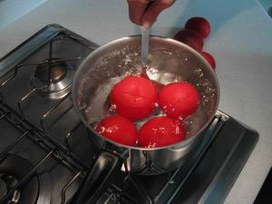 How to prepare tomatoes : Photo of step #4