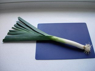 How to prepare leeks : Photo of step #1