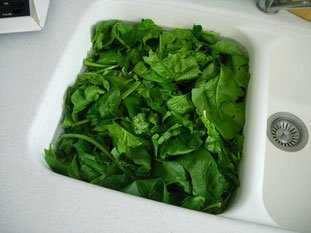 How to prepare spinach : Photo of step #1