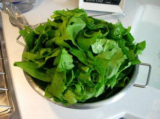 How to prepare spinach : Photo of step #2