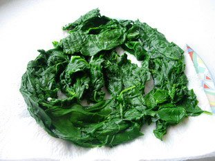 How to prepare spinach : Photo of step #15