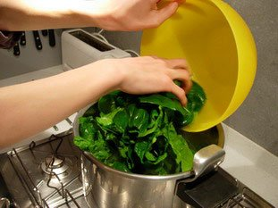 How to prepare spinach : Photo of step #10