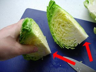 How to prepare cabbage : Photo of step #3
