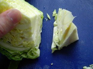 How to prepare cabbage : Photo of step #4