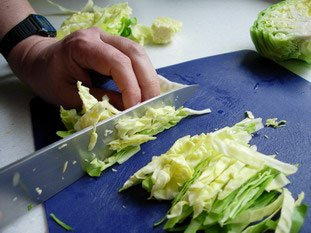 How to prepare cabbage : Photo of step #8