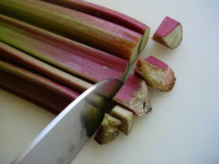 How to prepare rhubarb : Photo of step #1
