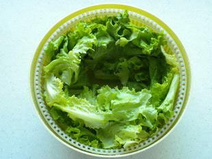How to prepare a lettuce : Photo of step #8