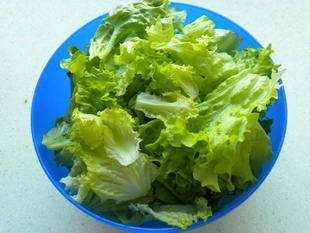 How to prepare a lettuce : Photo of step #9