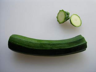 How to prepare courgettes : Photo of step #2