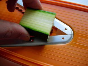 How to prepare courgettes : Photo of step #9