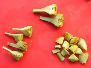 How to prepare purple artichokes : Photo of step #11