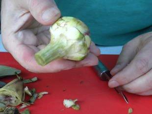 How to prepare purple artichokes : Photo of step #7