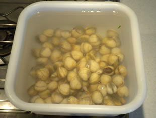How to prepare cockles : Photo of step #1