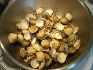 How to prepare cockles : Photo of step #10