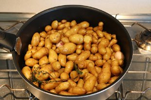 How to cook potato grenaille  : Photo of step #6
