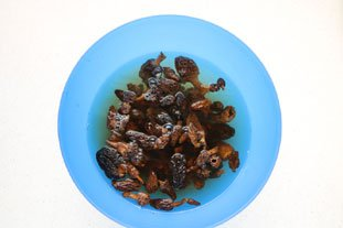 How to rehydrate dried mushrooms : Photo of step #4