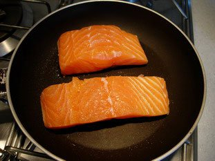 How to grill salmon well : Photo of step #1