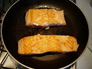How to grill salmon well : Photo of step #6