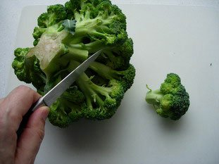 How to prepare broccoli : Photo of step #2