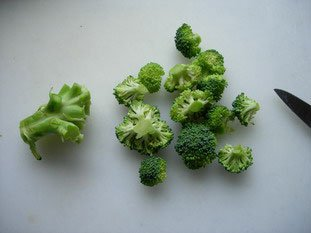 How to prepare broccoli : Photo of step #3