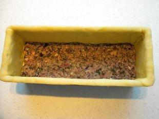 Paté en croute (terrine in a pie crust) : Photo of step #12