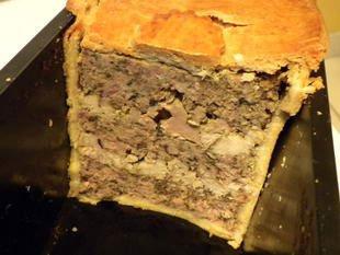 Paté en croute (terrine in a pie crust) : Photo of step #20