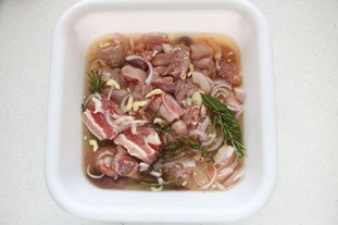 Rabbit terrine : Photo of step #4