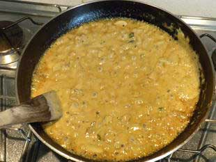 Escalope of veal in a cream sauce : Photo of step #10