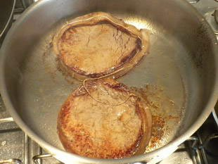 Tournedos Rossini : Photo of step #4