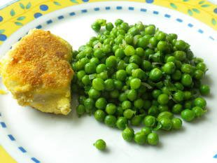 Chicken breasts in a potato crust