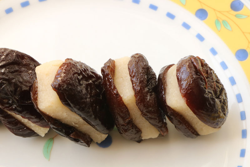 Stuffed prunes