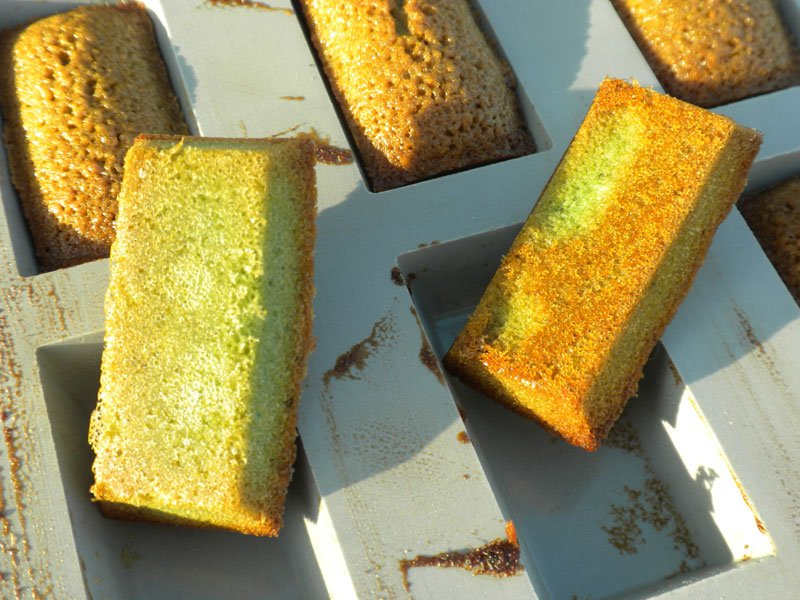 "Pistachio ""Financiers"""