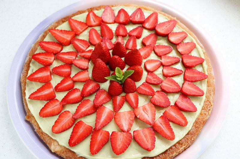 Strawberry feuilleté
